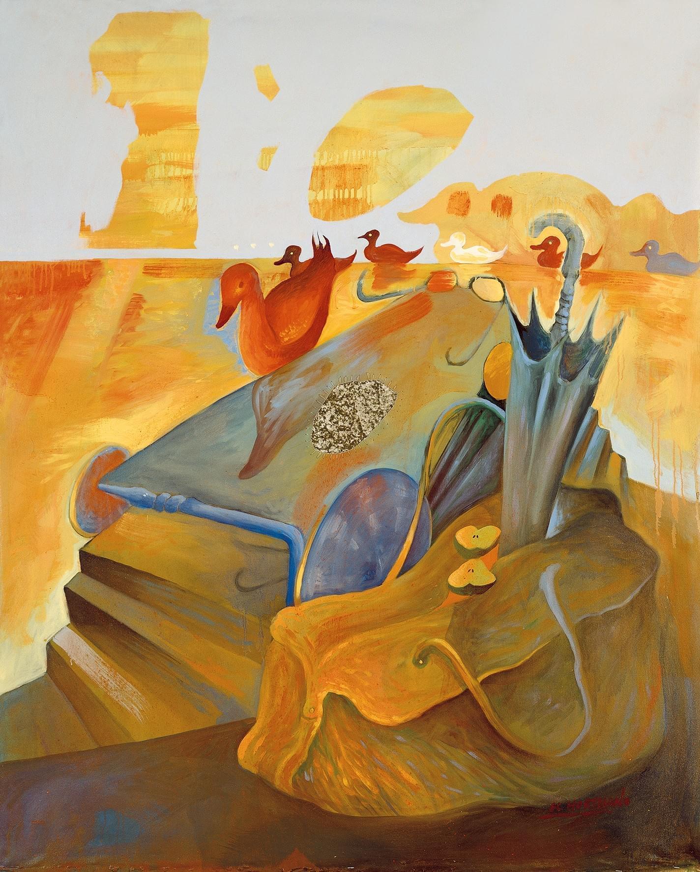 01 Tábula rasa Óleo sobre lienzo 147 x 119 cm 1988