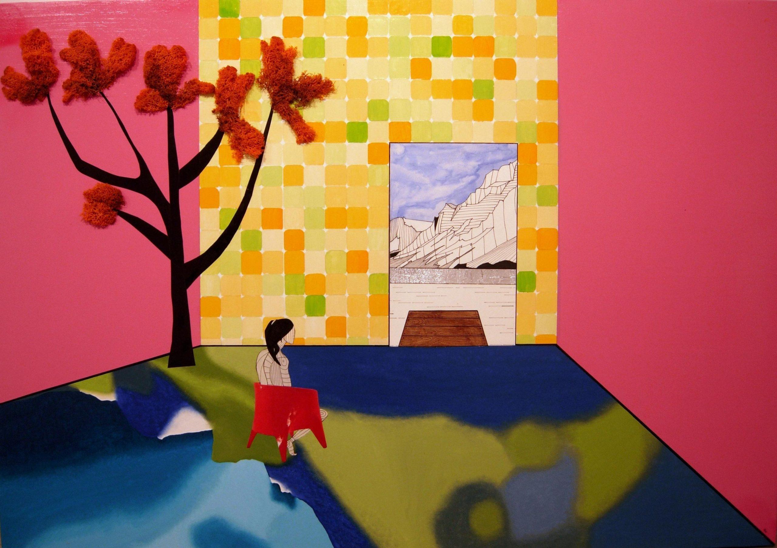 03-ALEJANDRA CORRAL. Decostruccion de paisaje rosa