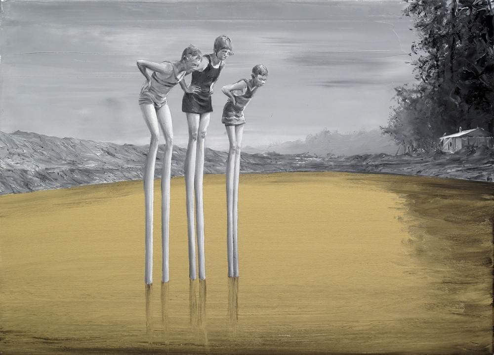 17-PP279. PACO POMET Vértigo Óleo sobre lienzo 60 x 80 cm 2016