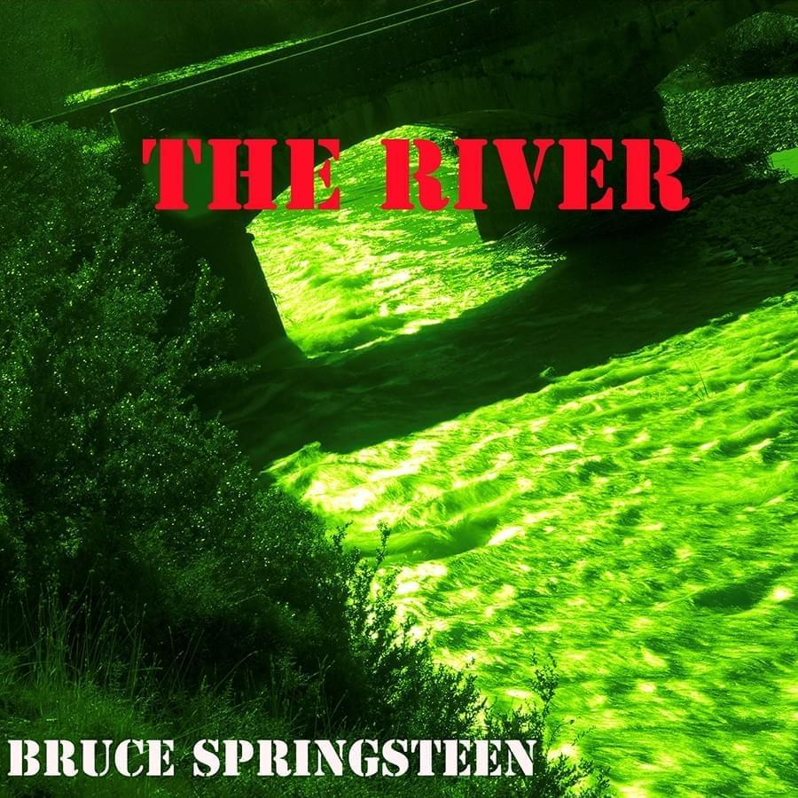 "CIUCO GUTIÉRREZ. ""The River"". Bruce Springsteen. Fotografía sobre diabond. 18 x 18 cm. 2015."