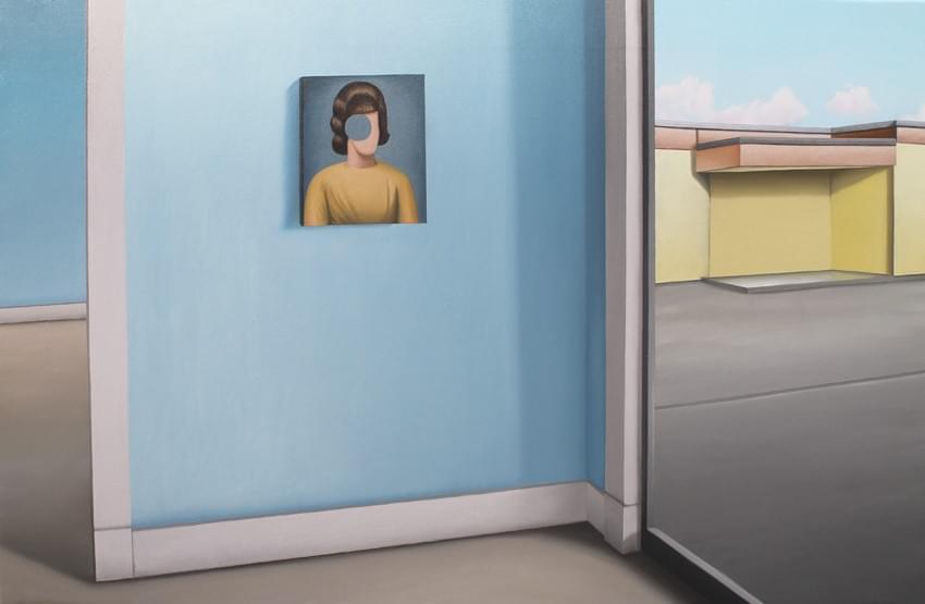 CU350.Hueco-La Pintura Óleo sobre lienzo 60 x 92 cm 2016