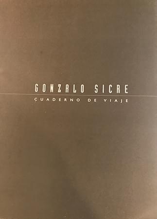 GONZALOSICRE-CUADERNODEVIAJE GALERÍA MY NAME'S LOLITA ART. Cuaderno de viaje. Madrid, 1998.