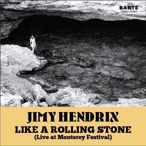 "JUAN BARTE. ""Like a rolling Stone"". Jimmy Hendrix. Impresión digital, copia única. 18 x 18 cm."