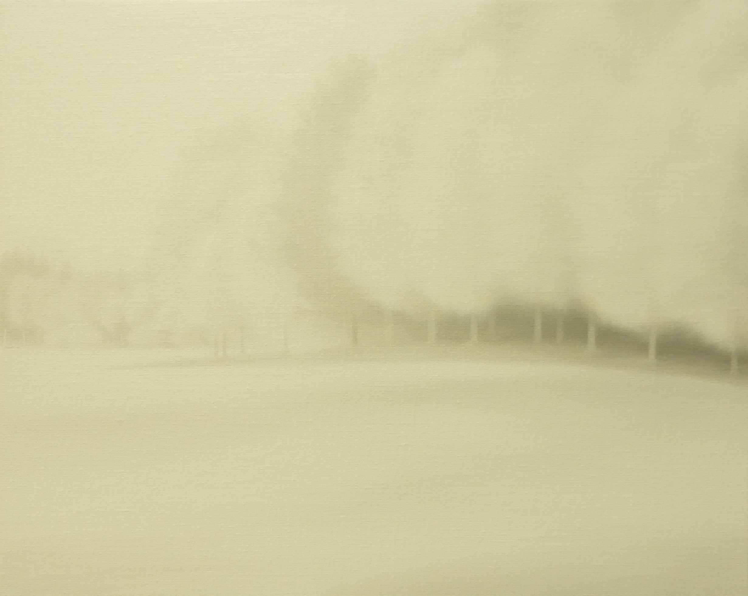 LW090 Winterfall Óleo sobre lienzo 33 x 41 cm. 2016