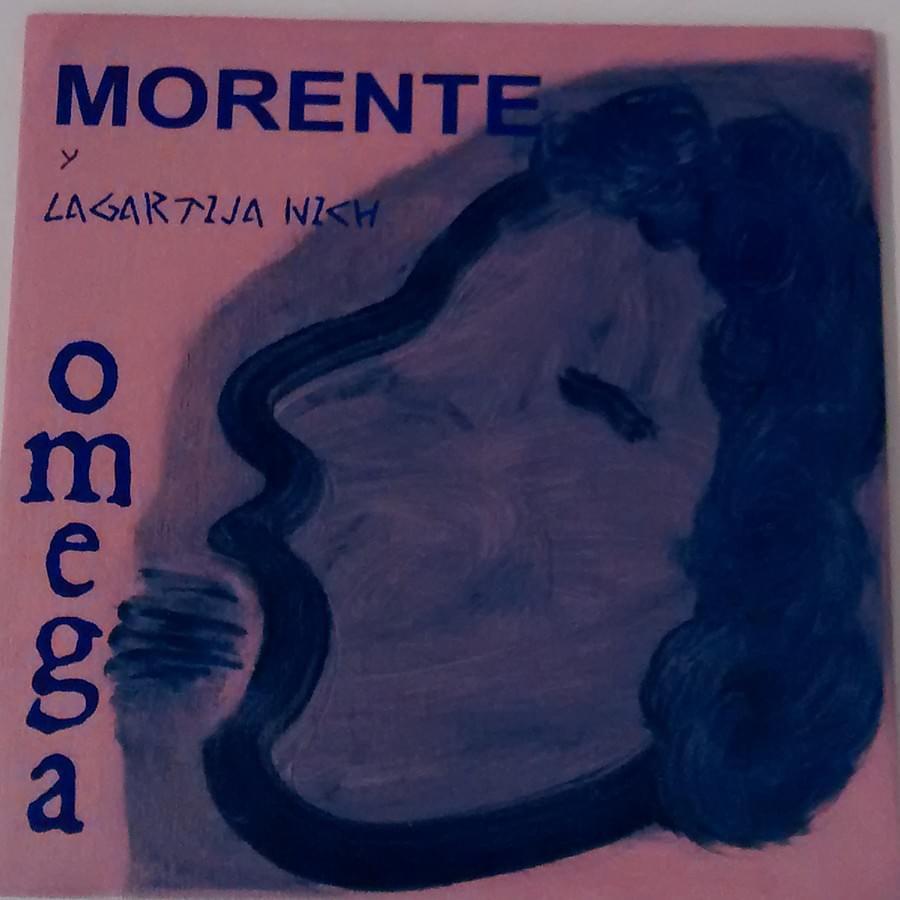 """MARÍA GÓMEZ. """"Omega"""". Morente y lagartija nich. Mixta sobre tabla. 18 x 18 cm. 2015."""
