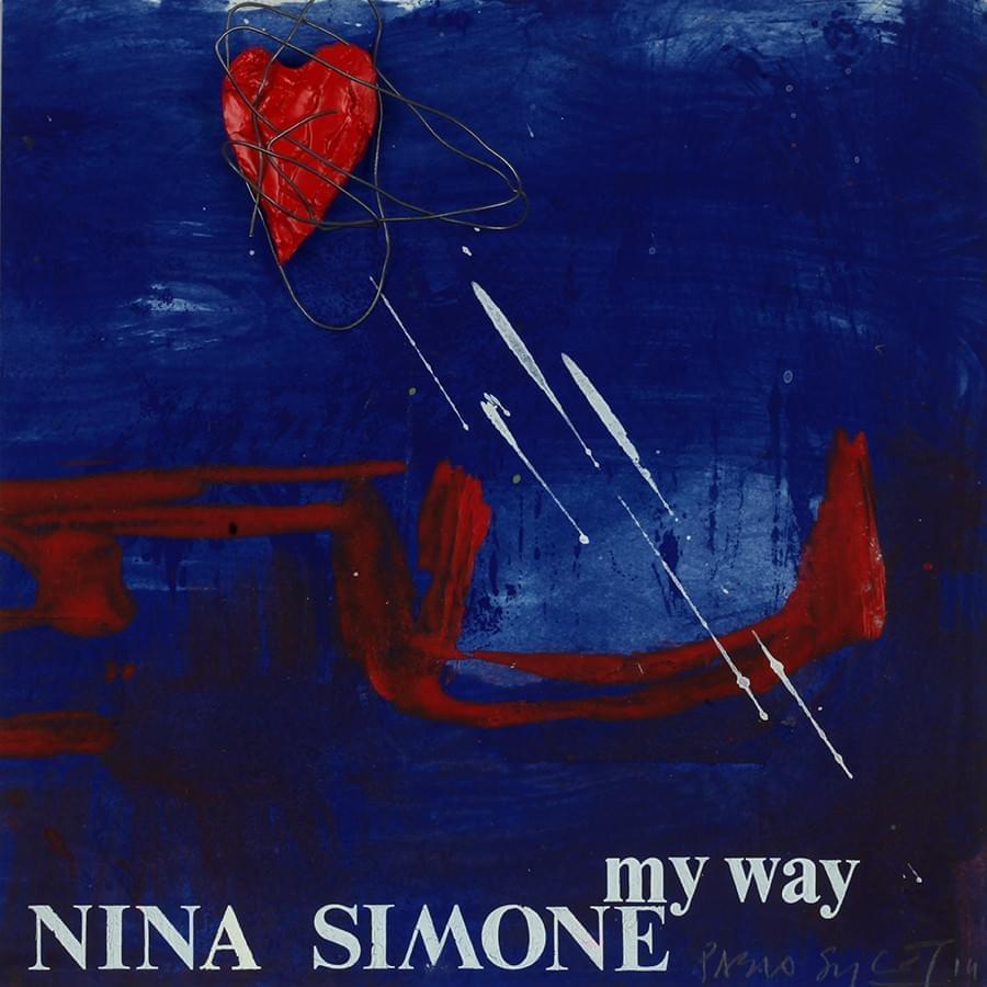"PABLO SYCET. ""My Way"". Nina Simone. Técnica mixta sobre cartón. 18 x 18 cm."