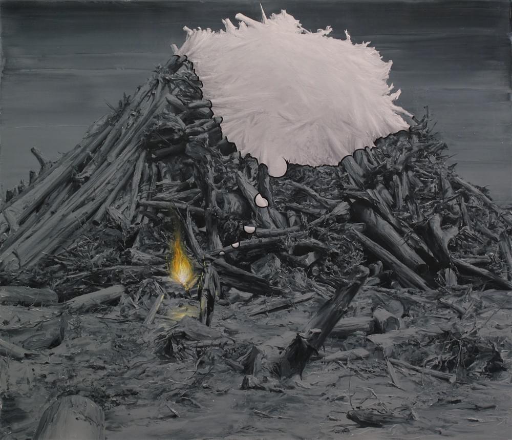 PP234. El ilustrado Oleo sobre lienzo. 120 x 140 cms. 2014