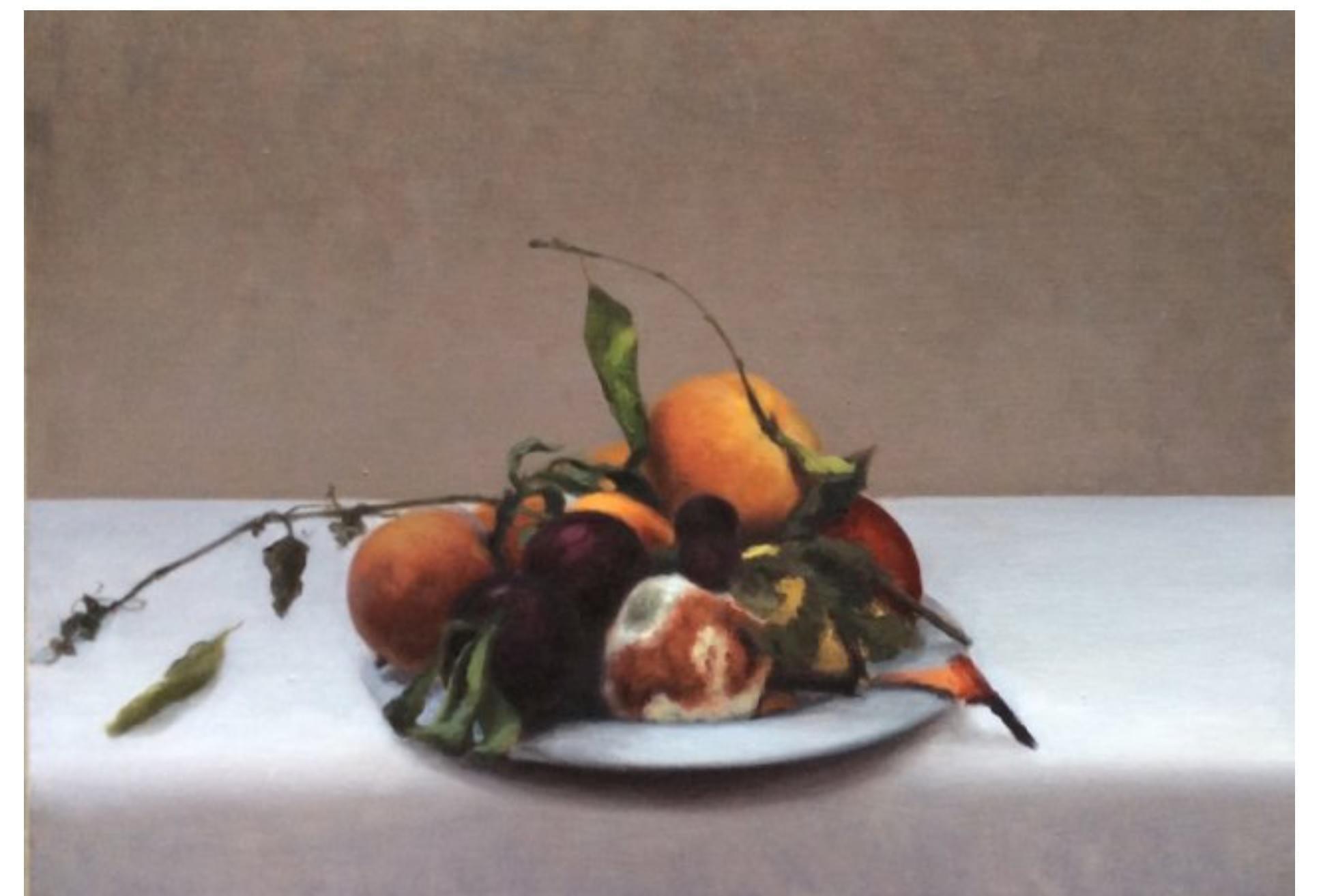 SC454 El Tiempo sobre la mesa E Óleo sobre lienzo 46 x 65 cm. 2015