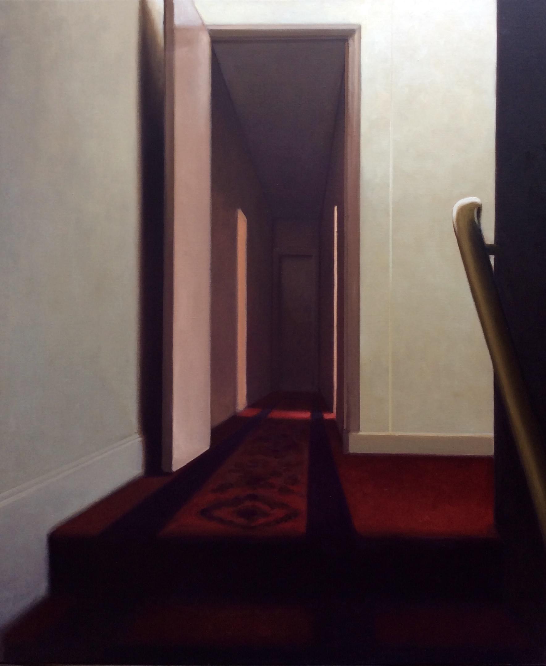 SC459. Habitaciones del Hotel de Suez Óleo sobre lienzo 116 x 97 cm 2016