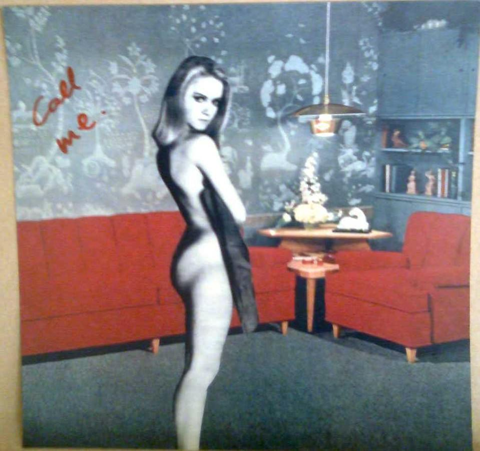 "SERGIO LÓPEZ DE HARO. ""Call me"". Nancy Sinatra. 18 x 18 cm."