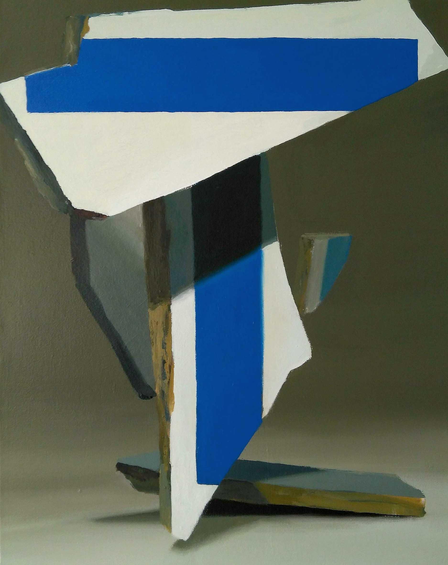 05 T (DE TIERRA Y TEXTO) 92 x 73 cm Pigmento y latex