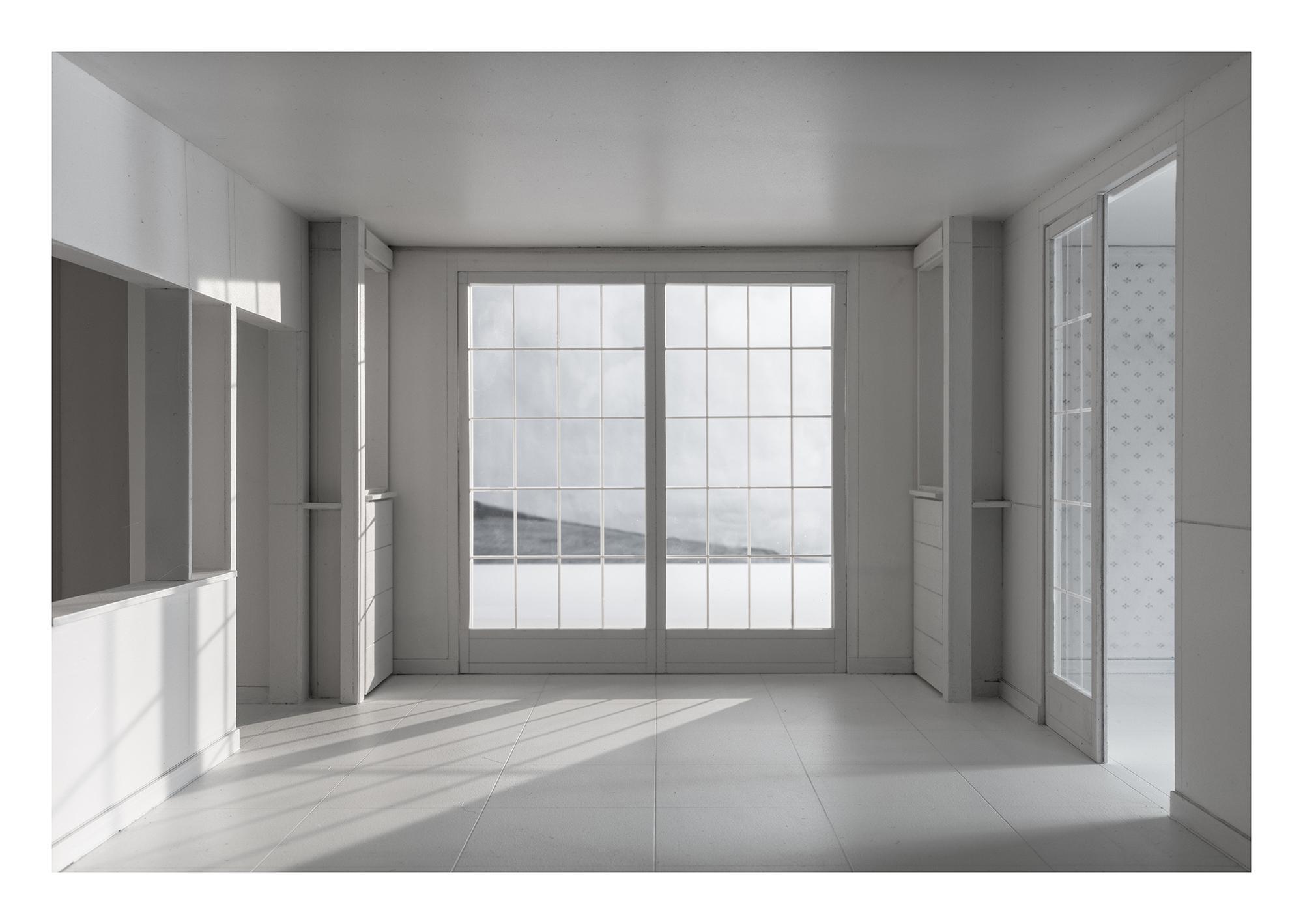 L.h.dc-1 Dom-ino. 1914. Le Corbusier. Impresión digital, papel algodón Hahnemühle. 120X174cm. Edición 5+2 P.A.