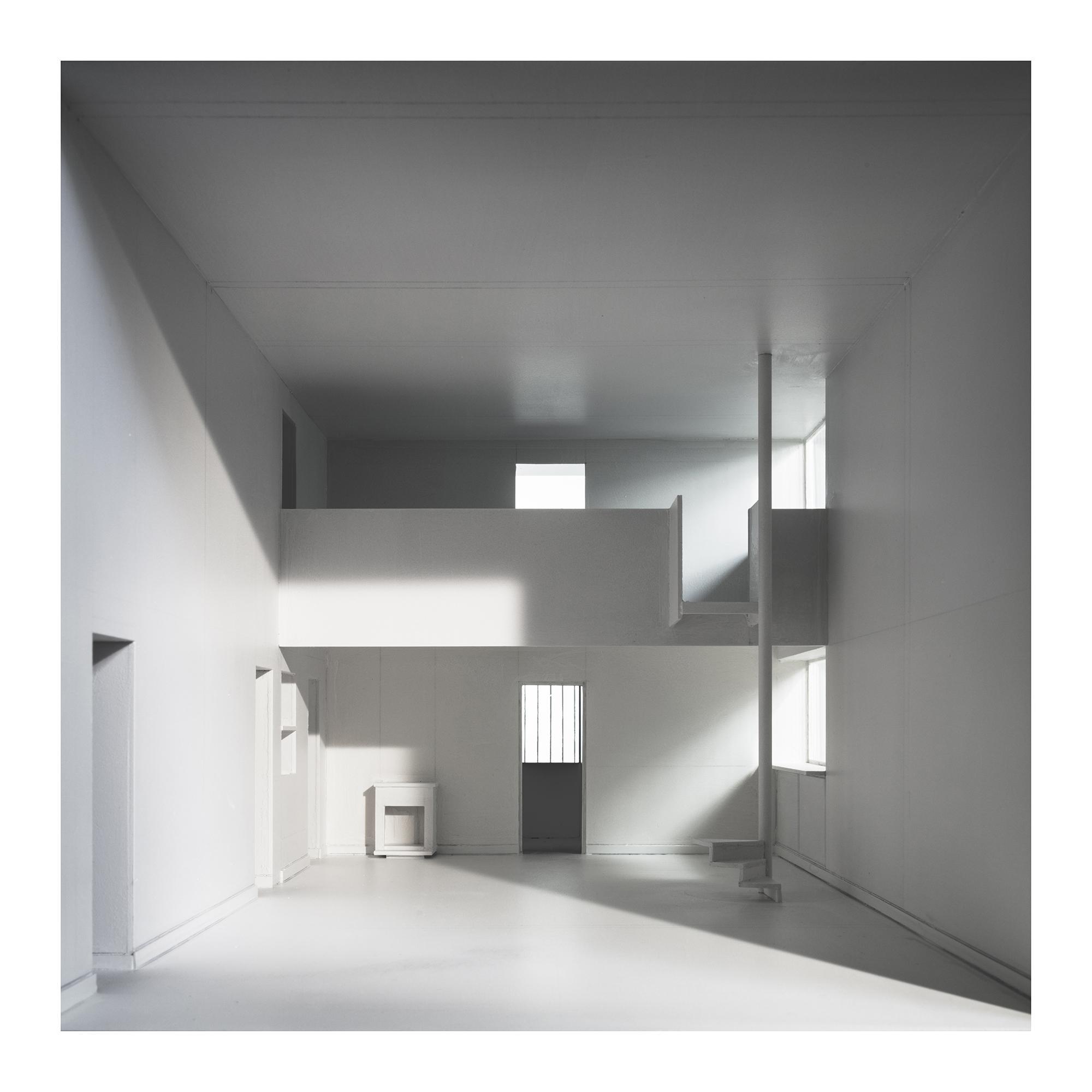 L.h.dc-2 Maison Citrohan. 1920. Le Corbusier. Impresión digital, papel algodón Hahnemühle. 120X120cm. Edición 5+2 P.A.