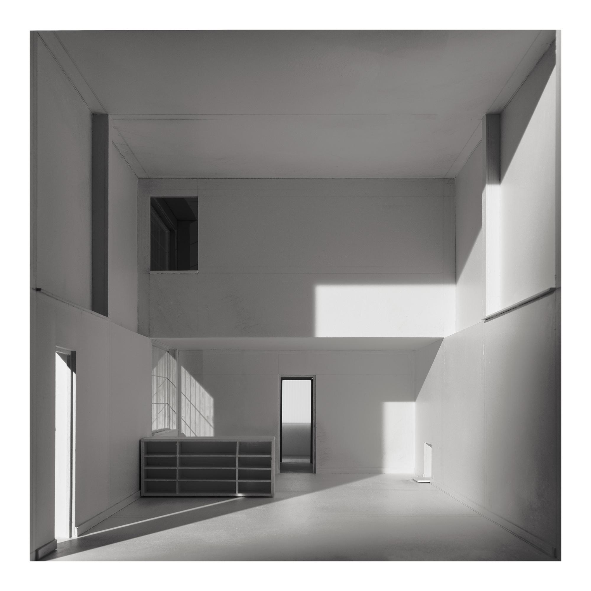 L.h.dc-4 Maison Citrohan. 1920. Le Corbusier. Impresión digital, papel algodón Hahnemühle. 42x42cm. Edición 5.
