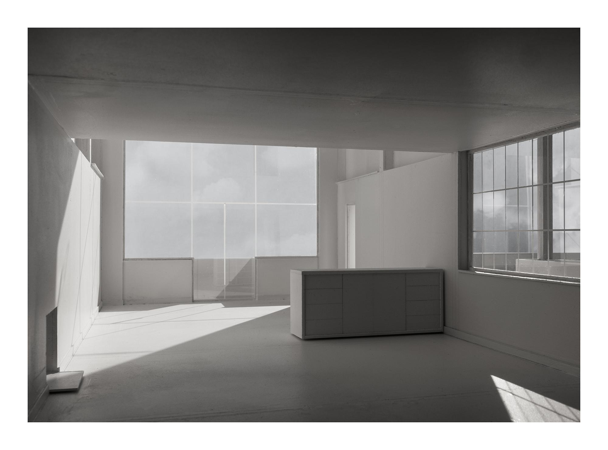 L.h.dc-5 Immeuble-Villas. 1922. Le Corbusier. Impresión digital, papel algodón Hahnemühle. 120X167cm. Edición 5+2 P.A.