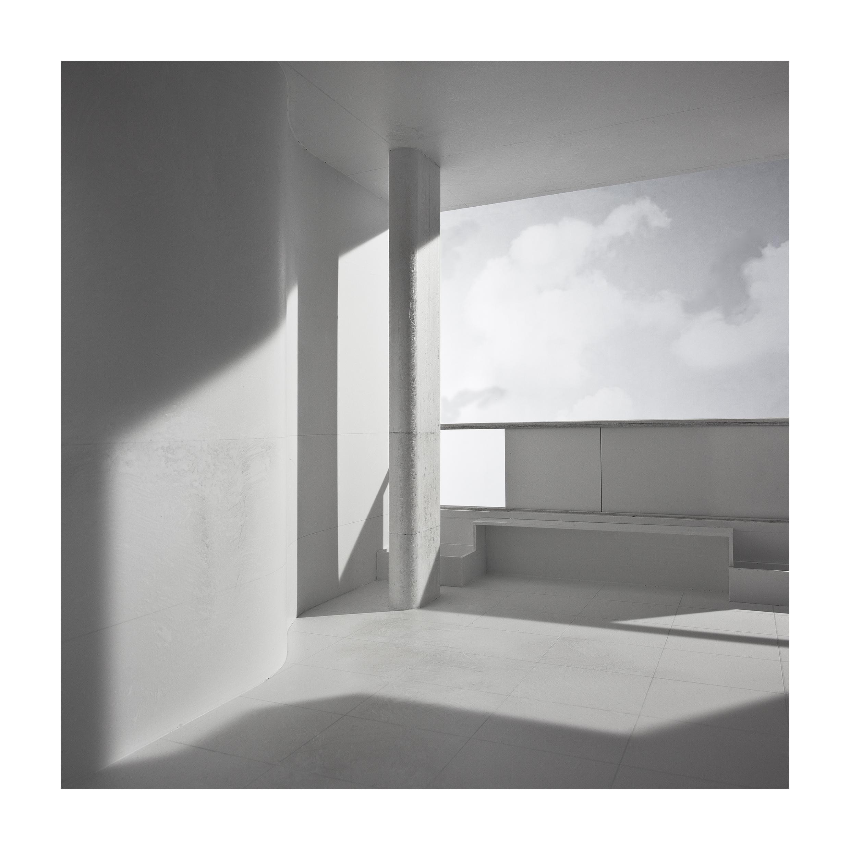 bauen3 Bauen II. Vivienda para un nuevo hombre. (Immeubles –Villa. Le Corbusier). Impresión digital, papel algodón Hahnemühle. 120X120cm. Edición 5+2 P.A.