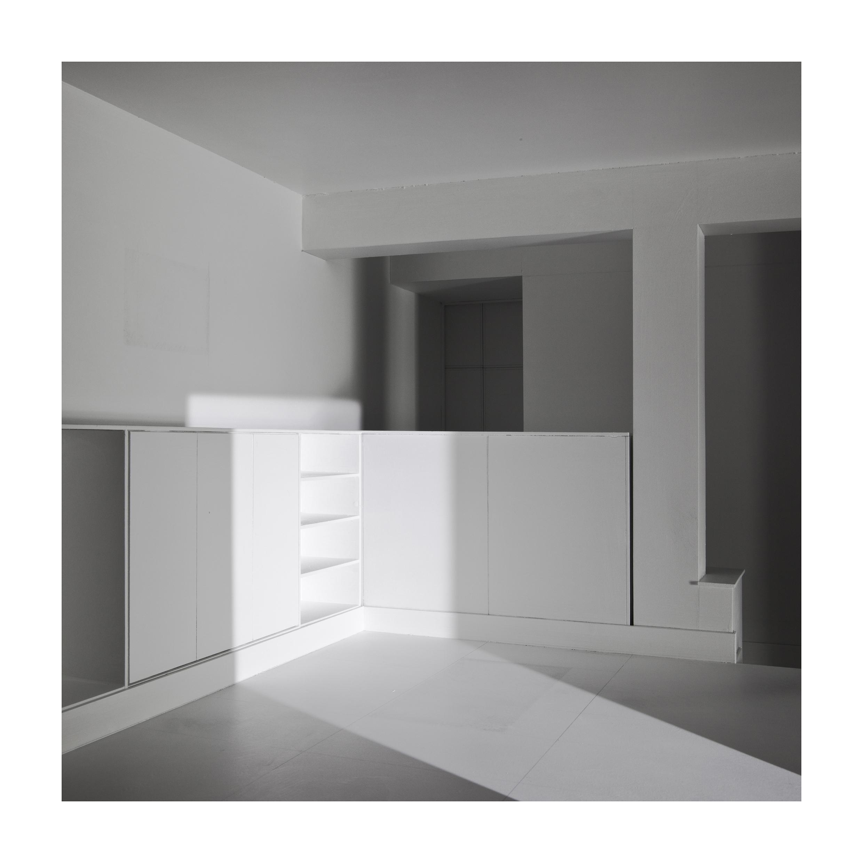 bauen5 Bauen V. Casa de artista. (Estudio en la casa de Tristan Tzara. Adolf Loos). Impresión digital, papel algodón Hahnemüle. 42x42cm. Edición 5.