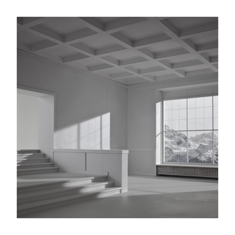 bauen7 Bauen VI. Casa de dictador. Berghof. Impresión digital, papel algodón Hahnemühle. 140X140cm. Edición 5+2 P.A.