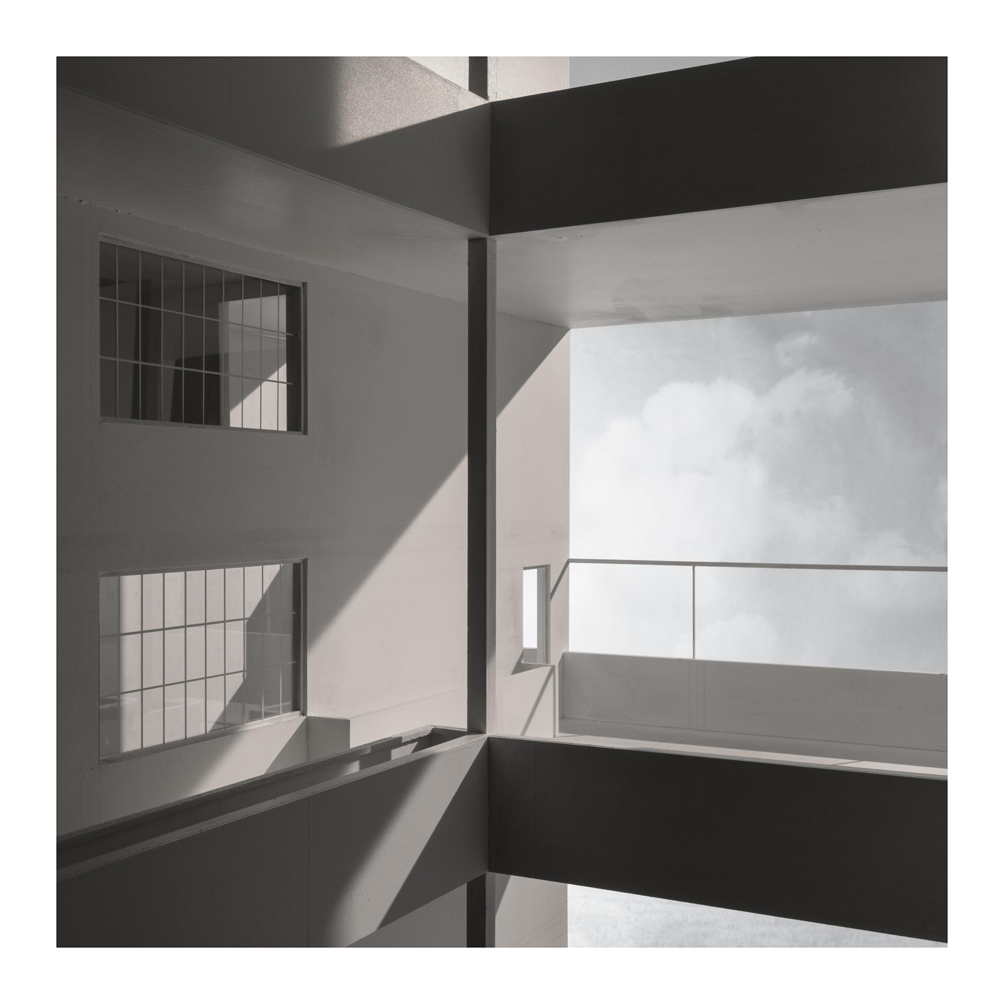 l.h.dc3 Immeuble-Villas. 1922. Le Corbusier. Impresión digital, papel algodón Hahnemühle. 42x42cm. Edición 5.