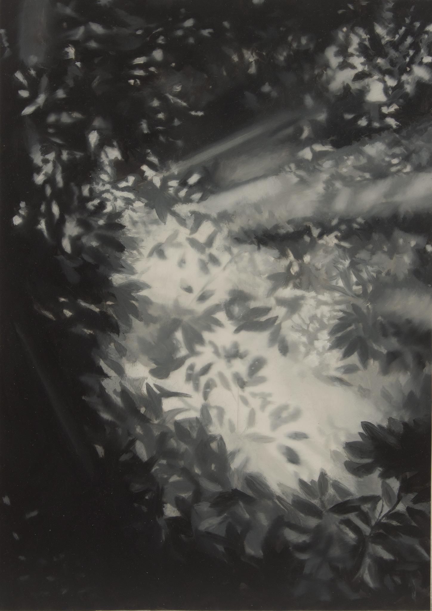 Poema VII Óleo sobre poliéster 29,5 x 21 cm 2019