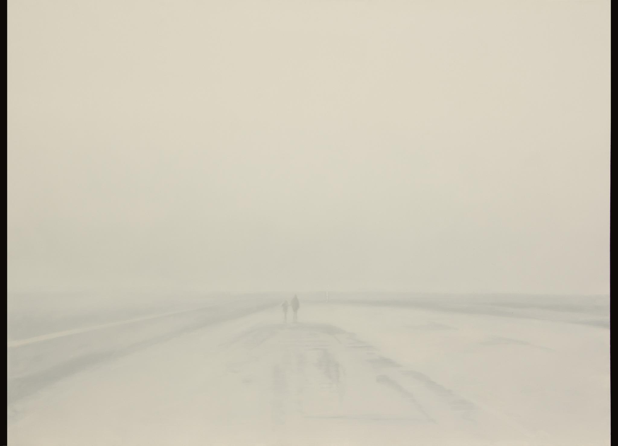 Road to a chimera Óleo sobre poliéster 80 x 110 cm 2019