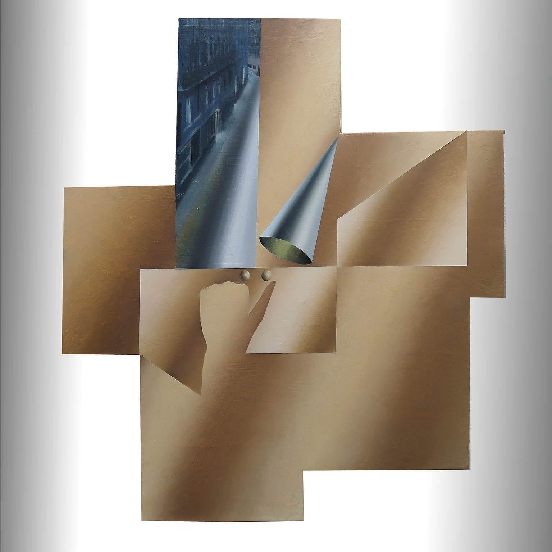 AR083 Antonio Rojas Inasible Acrílico sobre lienzo 60 x 54 cm 2020