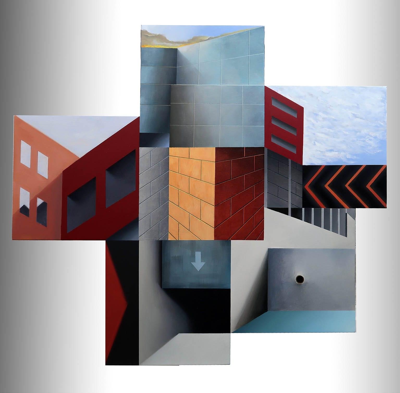 AR084 Antonio Rojas Aquí y ahora Acrílico sobre lienzo 110 x 120 cm 2020