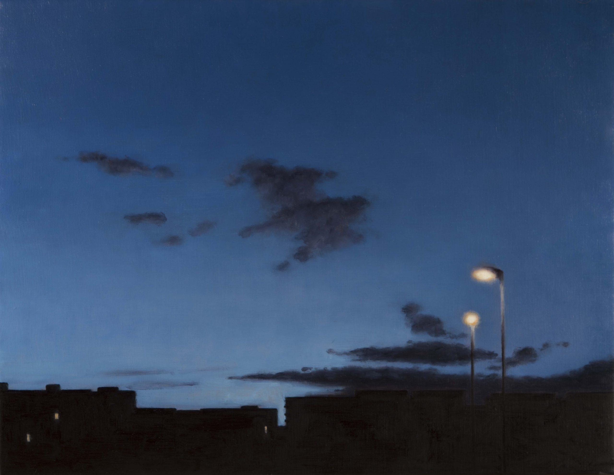GONZALO SICRE. El conversor Óleo sobre lienzo 81 x 100 cm 2020