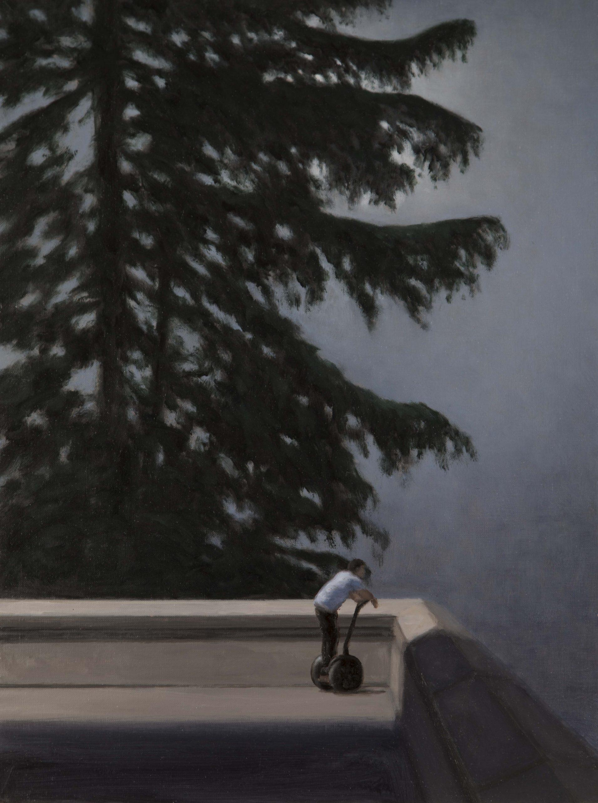 GONZALO SICRE. Crepuscular Óleo sobre lienzo 61 x 46 cm 2020