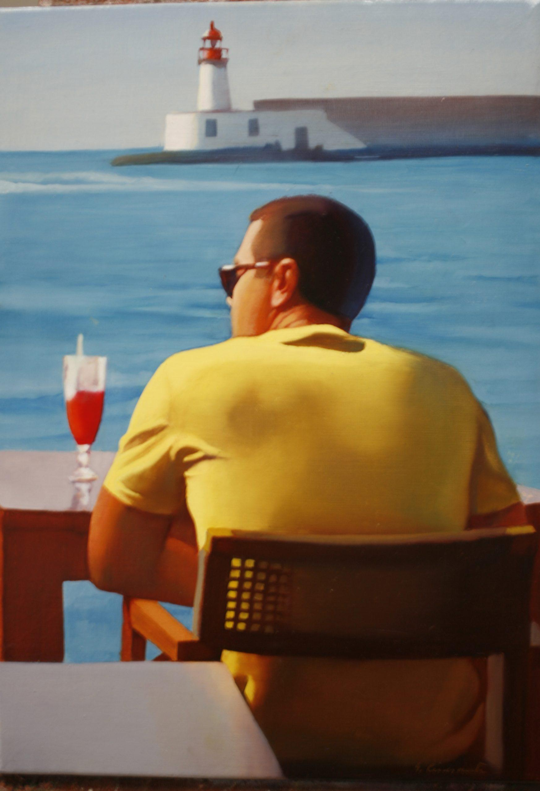 JMC54 José María Cuasante Sin título óleo sobre lienzo 46 x 33 cm 2019