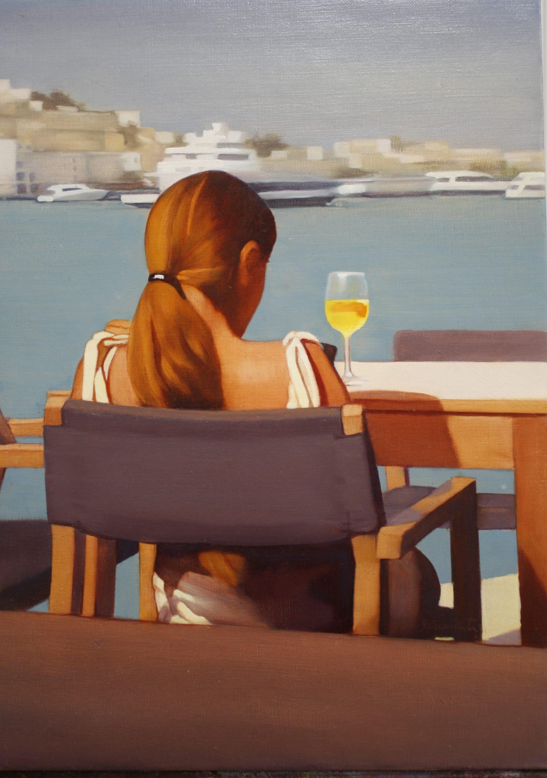JMC56 José María Cuasante Sin título óleo sobre lienzo 46 x 33 cm 2019
